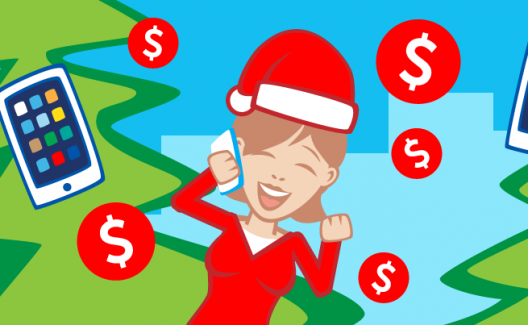Boost Your Income For Christmas Using Your Smart Phone
