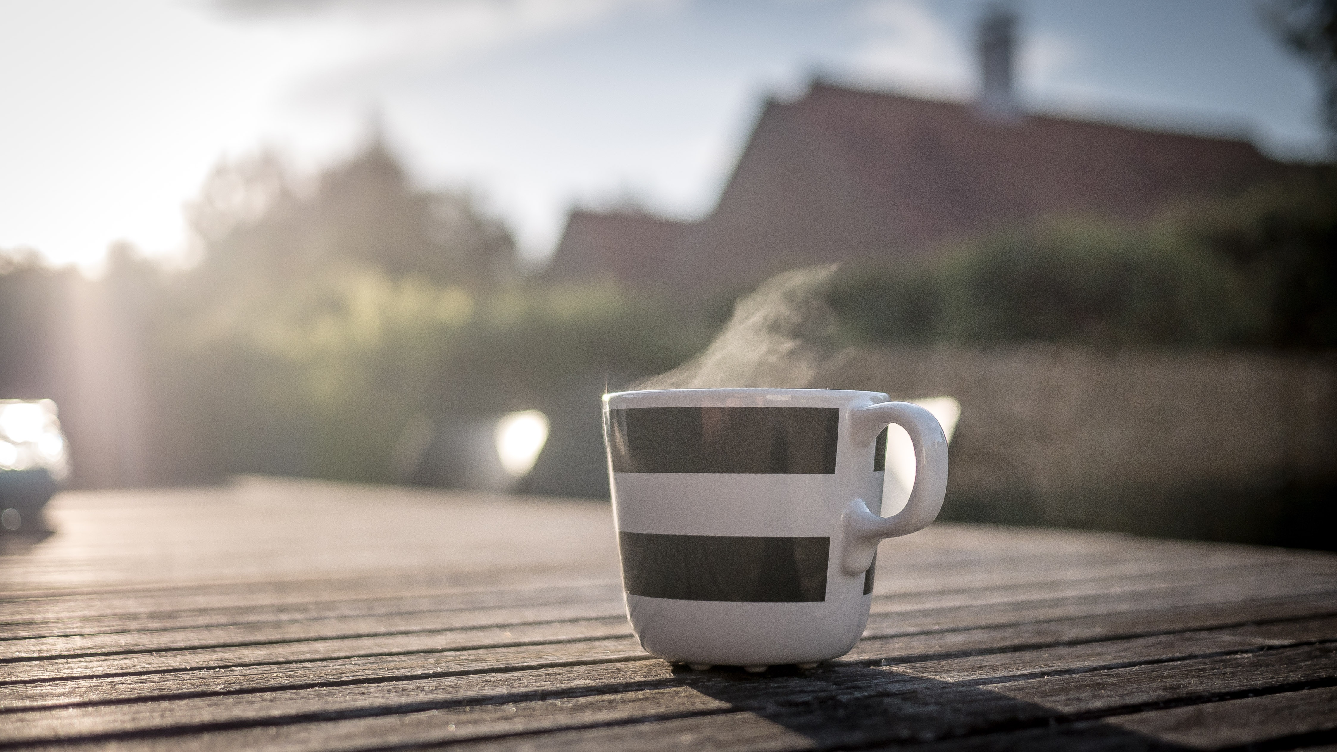 Coffee in the garden (Pixabay)